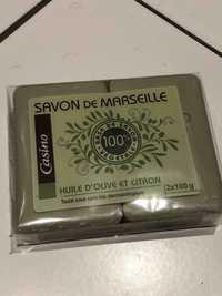 CASINO - Savon de Marseille à l'huile d'olive et citron