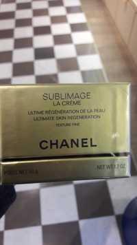 Chanel - Sublimage - la crème texture fine