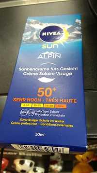 NIVEA - Sun alpin - Crème solaire visage fps50+