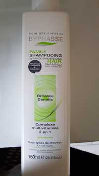 BYPHASSE - Complexe multivitaminé 2 en 1 - Family  shampooing après-shampooing