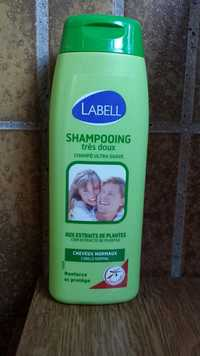 LABELL - Shampooing très doux cheveux normaux