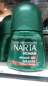 NARTA - Anti-transpirant homme 48H