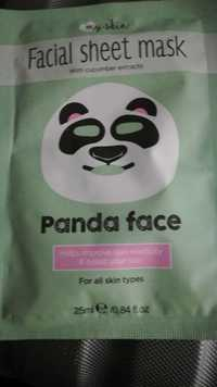 MYSKIN - Panda face - Facial sheet mask