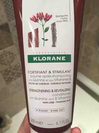 KLORANE - Baume après-shampooing à la quinine et aux vitanimes b