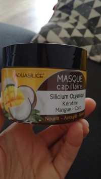 Aquasilice - Masque capillaire silicium organique