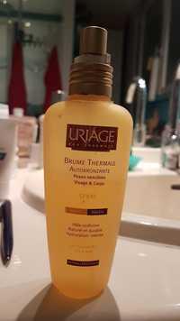Uriage - Brume thermale autobronzante - Spray