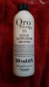 FANOLA - Oro therapy 24k - Gold activator