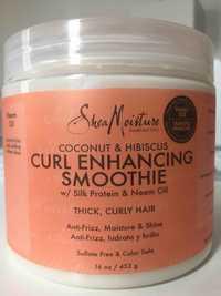 SHEA MOISTURE - Curl enhancing smoothie coconut & hibiscus