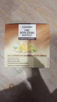 CASINO - Cire dépilatoire institut aux extraits de calendula & de vanille