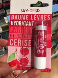MONOPRIX - Baume lèvres hydratant parfum et reflets cerise