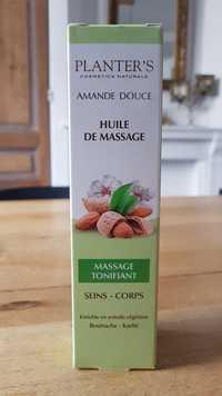 PLANTER'S - Amande douce - Huile de massage