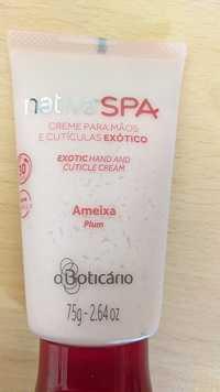 O BOTICARIO - Nativa Spa - Exotic hand and cuticule cream