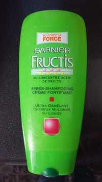 GARNIER - Fructis - Après shampooing crème fortifiant