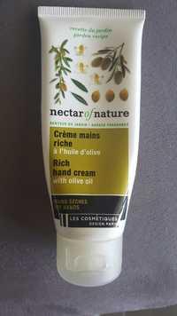 LES COSMÉTIQUES DESIGN PARIS - Nectar of nature - Crème mains riche à l'huile d'olive