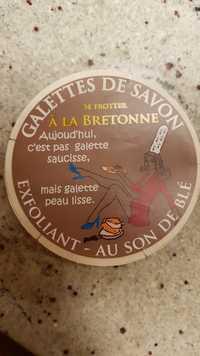 MA KIBELL - Galette de savon - Exfoliant au son de blé