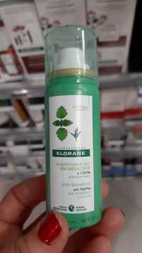 KLORANE - Shampooing sec déboréducteur à l'Ortie