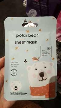 Hema - Polar bear - Sheet mask
