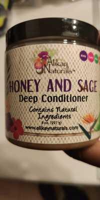 ALIKAY NATURALS - Honey and sage - Deep conditioner
