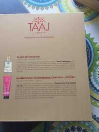 TAAJ - L'Ayurveda, Secret de beauté  - Huile Délhicieuse + Shampooing Ayurvédique Low Poo
