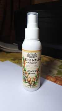 Senteur et beauté - Huile de massage à l'huile d'argan