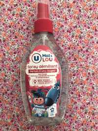 BY U - Mat & lou - Spray démêlant parfum fruits rouges