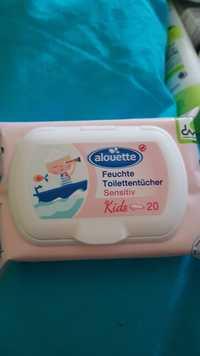 Alouette - Sensitiv kids - Feuchte toilettentücher