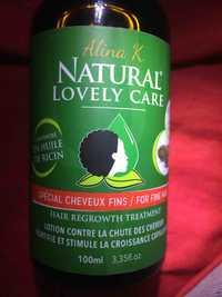 ALINA K. - Natural lovery care - Lotion contre la chute des cheveux