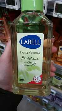 LABELL - Eau de cologne fraîcheur
