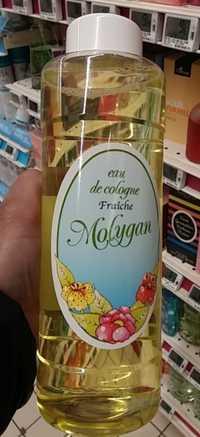 Molygan - Eau de cologne fraîche