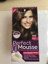 Schwarzkopf - Perfect Mousse - Coloration 600 châtain clair
