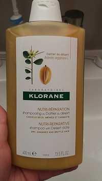 KLORANE - Shampooing nutri-réparation au dattier du désert
