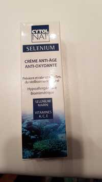 Cytolnat - Selenium - Crème anti-âge anti-oxydante