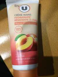 BY U - Crème mains hydratante résistante à l'eau
