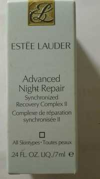 ESTEE LAUDER - Advanced night repair - Synchronized recovery compex II