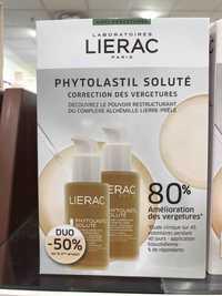 Liérac - Phytolastil soluté - Correction des vergetures