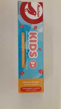 AUCHAN - Kids 2+ - Dentifrice fraise