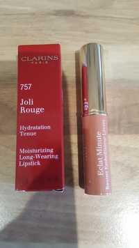 Clarins - Eclat minute baume embellisseur lèvre  757 joli rouge