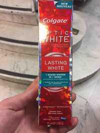 COLGATE - Optic white - Dentifrice au fluor