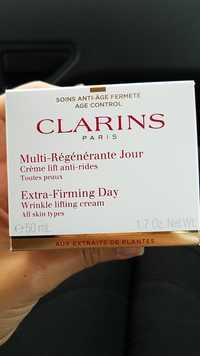 Clarins - Soins anti-âge fermeté