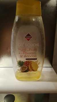 Leader Price - Gel douche - Fruits de la passion & ananas