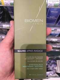 BIOMEN - Baume après rasage