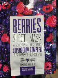 Primark - Berries sheet mask