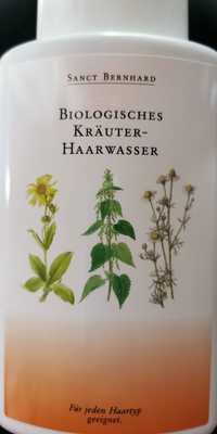SANCT BERNHARD - Biologisches kräuter-haarwasser