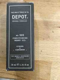 DEPOT - Ginger & cardamom - No. 505 conditioning beard oil