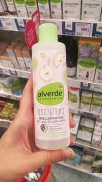 ALVERDE - Beauty & fruity - Mizellenwasser bio-limette & bio-apfel