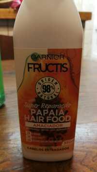 GARNIER - Frutis Papaia hair food - Amaciador