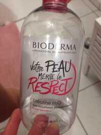 BIODERMA - Créaline H2O - Eau micellaire démaquillante