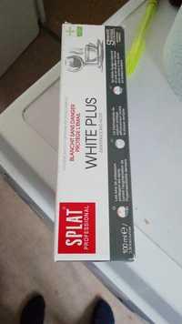 Splat - White plus - Dentifrice Bio-actif