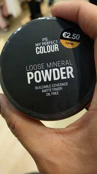 Primark - My perfect colour - Loose mineral powder