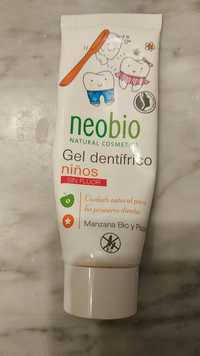 NEOBIO - Gel dentifríco niños mazana bio y papaya